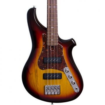 Custom CP Thornton Bass  2016 3-Tone Sunburst