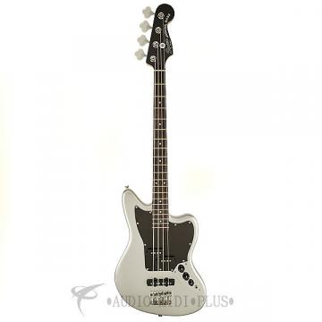 Custom Fender Squier Vintage Modified Jaguar Special SS Rosewood FB 4/S Electric Bass Guitar Silver