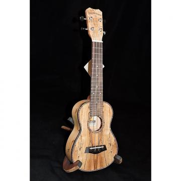 Custom Islander MAS-4 Spalted Maple Soprano Ukulele