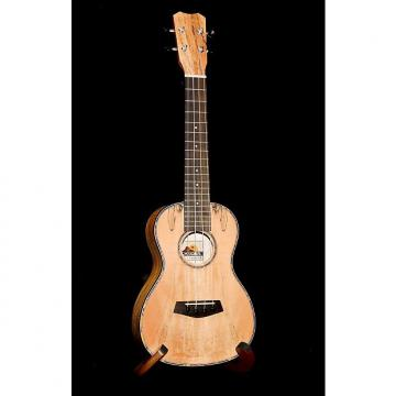 Custom Islander MAC-4 Spalted Maple Concert Ukulele