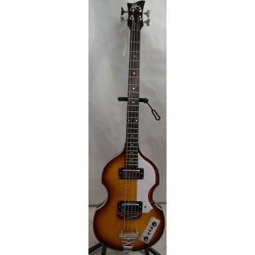 Custom Rogue VB100 Violin Bass Guitar  Vintage Sunburst w/hard case