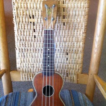 Custom PeterPan Uke Soprano 1930's