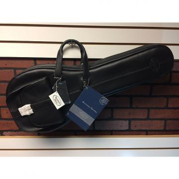 Custom Reunion Blues A-Style Mandolin Bag Black Leather