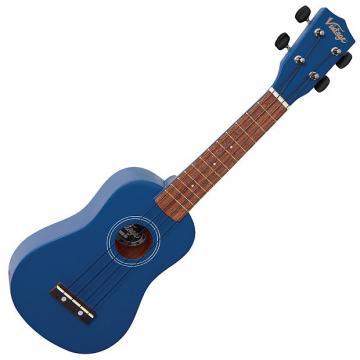 Custom Vintage VUK15 Satin Blue Ukulele (RRP £29.95)
