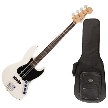 Custom Fender 014-3510-305 Olympic White Deluxe Active J Bass Guitar