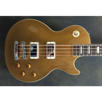 Custom Gibson Les Paul Bass Nitro Gold Top