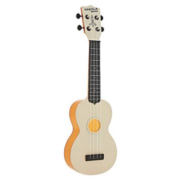 Custom Kala MK-SWT-OR Makala Waterman Ukulele - Translucent Orange