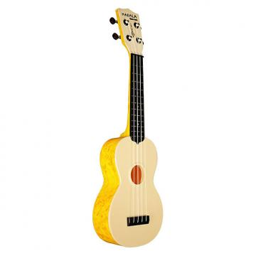 Custom Kala MK-SWS-OR Makala Waterman Ukulele - Swirl Orange