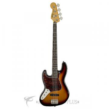 Custom Fender Squier Vintage Modified Jazz LH Rosewood 4 String Electric Bass 3-Color Sunburst - 0306620500