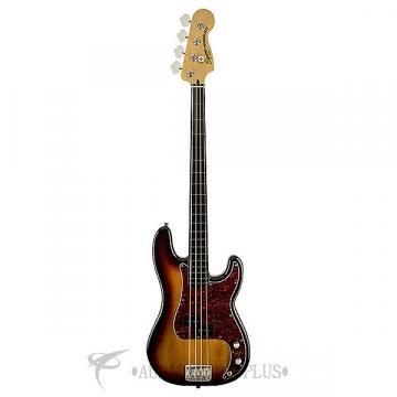 Custom Fender Squier Vintage Modified Precision Fretless Ebonol Electric Bass 3Color Sunburst - 0306808500