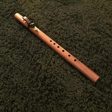Custom Concert Series Gm Native Flute by Butch Hall, premium eastern red cedar w/ brass sound plate