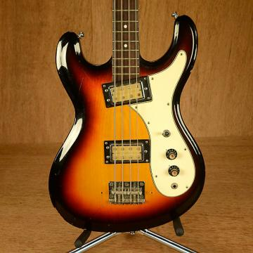 Custom 1974 Univox Hi-Flyer Bass 3 Color Sunburst