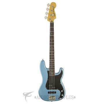 Custom Fender Squier Vintage Modified Precision PJ Rosewood FB 4/S Electric Bass Guitar Lake Placid Blue