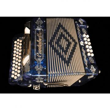 Custom Cantabella Button Accordion 12 Bass 34 Keys FBE (FA) Beautiful From Italy