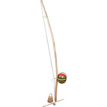 Custom Mid-East Berimbau Natural Finish Medium Painted Gourd (2 Boxes)