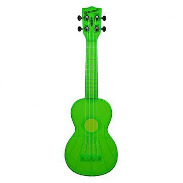 Custom Kala KA-SWF-GN Makala Waterman Ukulele - Flourescent Green