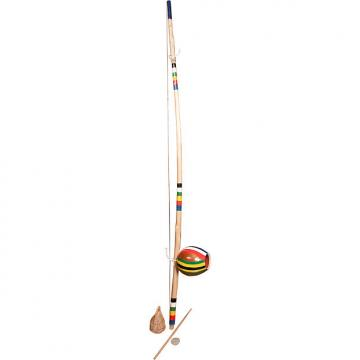 Custom Mid-East Berimbau Painted Stripes Medium Gourd (2 Boxes)