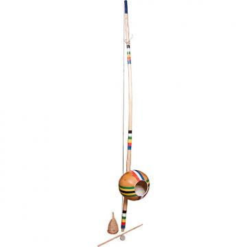 Custom Mid-East Berimbau Painted Stripes Large Gourd (2 Boxes)