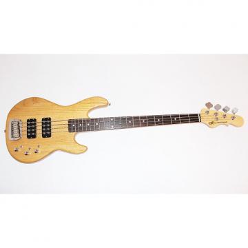 Custom G&L Tribute L-2000 4-String Natural Electric Bass Guitar By Leo Fender w/ Gigbag