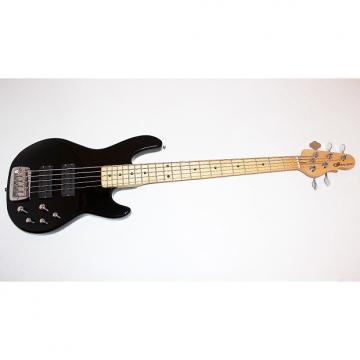 Custom G&L Tribute M-2500 5-String Black Electric Bass Guitar By Leo Fender w/ Gigbag