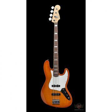 Custom Fender American Select Jazz Bass RW - Amber Burst (135)