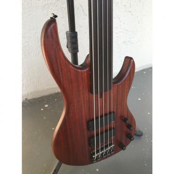 Custom Markott 5 Strings Padauk Fretless Bass 2016