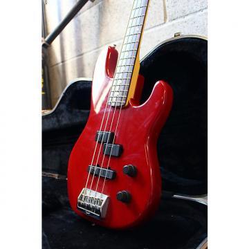 Custom Fender USA Precision Plus Deluxe Lipstick Red