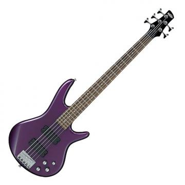 Custom Ibanez GSR205 GIO Series 5-String Electric Bass - Deep Violet Metallic