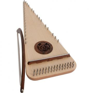 Custom Roosebeck Alto Rounded Psaltery Left-Handed