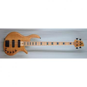 Custom Elrick Handcarved e-volution 4-String Bass Guitar, Gold Series, Maple Fingerboard