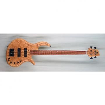 Custom Elrick Handcarved e-volution 4-String Bass Guitar, Gold Series, Bubinga Fingerboard