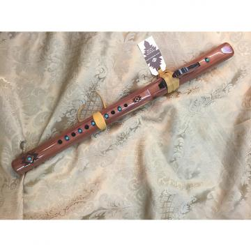 Custom High Spirits Sparrowhawk in A-Aromatic Cedar w/Turquoise-Good for Flute Circles!