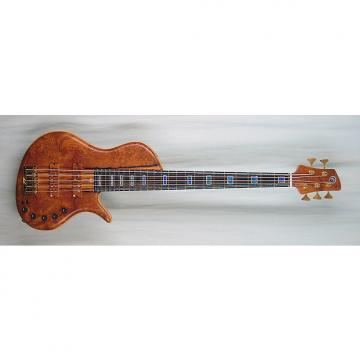 Custom Elrick Handcarved e-volution 5-String Bass Guitar, Master Series, Macassar Ebony Fingerboad