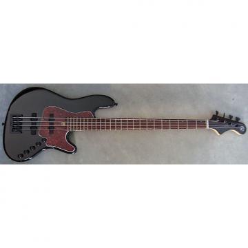 Custom Elrick Expat Handmade New Jazz Standard 4-String Bass Guitar, Piano Black Finish, Indian Rosewood Fb