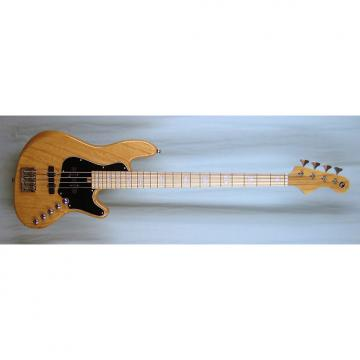 Custom Elrick Expat Handmade New Jazz Standard 4-String Bass Guitar, Clear Gloss Finish, Maple Fingerboard