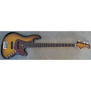 Custom Elrick Expat Handmade New Jazz Standard 4-String Bass Guitar, Tobacco Sunburst Finish,