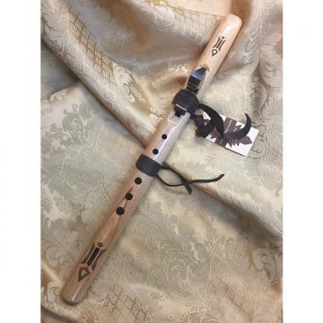 Custom High Spirits Flute-Kestrel in F#-Birch Wood-Clear Sweet Tone-Take Anywhere!