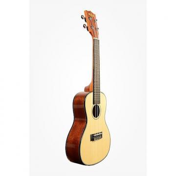 Custom Kala Gloss Solid Spruce Mahogany Concert Ukulele
