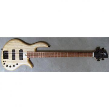 Custom Elrick Expat Handmade e-volution 4-String Bass Guitar, Natural Satin Finish, Bubinga Fingerboard