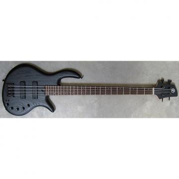 Custom Elrick Expat Handmade e-volution 4-String Bass Guitar, Satin Matte Black Finish, Wenge Fingerboard,