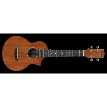 Custom Ibanez UEWS5 Cutaway Soprano Ukulele Mahogany