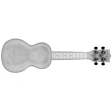 Custom Kala Makala MK-SWT Waterman Soprano Ukulele - Clear