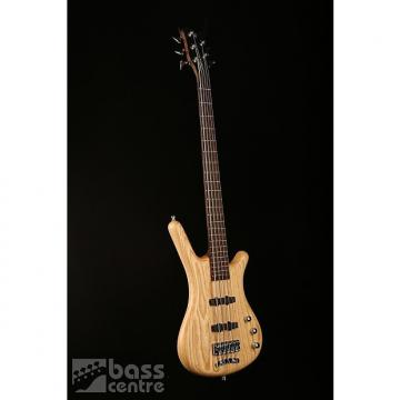 Custom Warwick German Pro Series Corvette 5 String, Natural Ash W/Gigbag