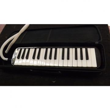 Custom Hohner 32 note Melodica with Case And Tube  2000's Black