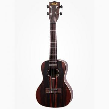 Custom Kala Ebony Concert Ukulele Right-Hand Uke w/ Rosewood Fingerboard Aquila Strings