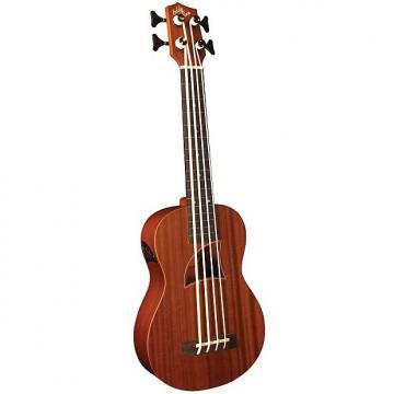Custom Eddy Finn Series Ukuleles The E-Bass. (Fretless) Big tone, small size :  EF-EBASS-FL