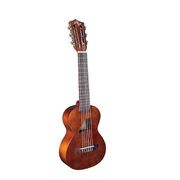 """Custom Eddy Finn Series Ukuleles Guitalele  Shap full tonal range of resonate lows and """"bright highs EF-G6."""