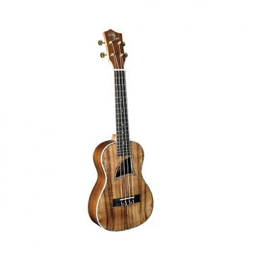 "Custom Eddy Finn Series Ukuleles offer a full tonal range of resonate lows and ""bright highs : EF-26-KC"