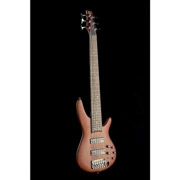 Custom Ibanez SR506 6 Model Bass Gtr 6 Str Brown Mahogany