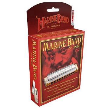 Custom Hohner 1896BX-C Marine Band, Key Of C Major
